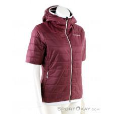 La Sportiva Glow Short Sleeve Damen Tourenweste-Rot-XS