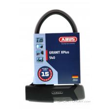 Abus Granit XPlus 540 + USH Halterung Fahrradschloss-Schwarz-One Size