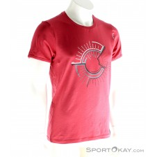 Chillaz Map Shirt Herren T-Shirt-Rot-M