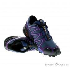 Salomon Speedcross 4 CS Damen Traillaufschuhe-Lila-4