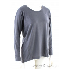 On Comfort Long T LS Damen Shirt-Grau-M