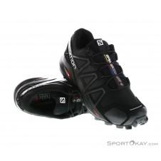 Salomon Speedcross 4 Damen Traillaufschuhe-Schwarz-7