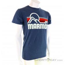 Marmot Coastal Herren T-Shirt-Blau-L