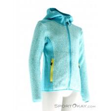 CMP Strickfleece Fix Hood Mädchen Oudoorsweater-Blau-140