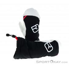 Ortovox Swisswool Freeride Mitten Damen Handschuhe-Schwarz-M