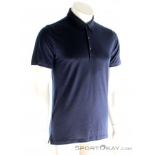 Icebreaker Tech Lite SS Polo Herren T-Shirt-Blau-S