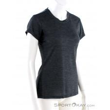 adidas Tivid Tee Damen T-Shirt-Schwarz-36