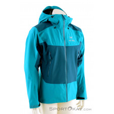 Arcteryx Beta SL Hybrid Jacket Herren Outdoorjacke Gore-Tex-Türkis-M