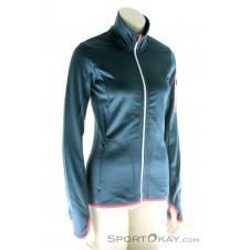 Ortovox Fleece Jacket Damen Tourensweater-Blau-M