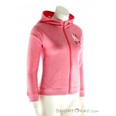 Under Armour Favorite Fleece FZ Mädchen Trainingssweater-Pink-Rosa-XS