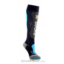 X-Bionic Ski Comfort Supersoft Damen Skisocken-Blau-41-42
