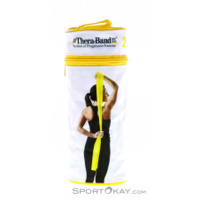 Thera Band 2,5m inkl. RV-Tasche Fitnessband-Gelb-One Size