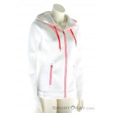 Spyder Ardent Full Zip Hoody Mid Weight Core Damen Sweater-Weiss-L