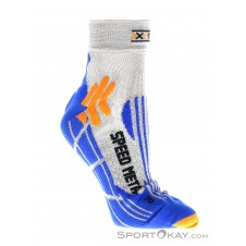 X-Socks Speed Metal Herren Socken-Blau-35-38