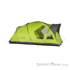 Salewa Alpine Lodge IV 4-Personen Zelt-Grün-One Size