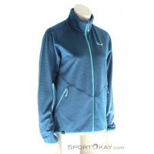 Salewa Puez Melange PL Damen Outdoorsweater-Blau-34