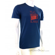 Ortovox 150 Cool Radio TS Herren T-Shirt-Blau-S