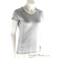 On Comfort-T Damen T-Shirt-Grau-M