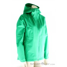 Jack Wolfskin Sierra Pass Jacket Damen Outdoorjacke-Grün-M
