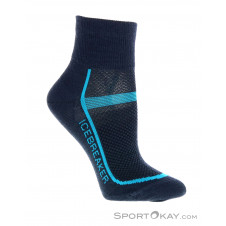Icebreaker Multisport Ultralight Mini Damen Laufsocken-Blau-S