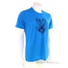 Icebreaker Tech Lite Crewe Arctic Fox Herren T-Shirt-Blau-S