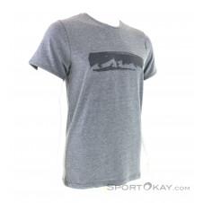 Chillaz Mountain Chain Herren T-Shirt-Grau-M