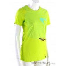 La Sportiva Vertical Love Damen T-Shirt-Gelb-L