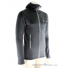 Haglöfs Lithe Hood Herren Outdoorsweater-Grau-S