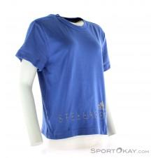 adidas Stellasport Aeroknit SS Damen Fitnessshirt-Blau-S