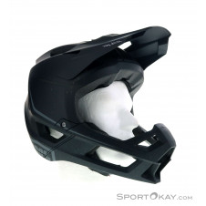 100% Trajecta All Mountain Enduro Helm-Schwarz-M