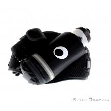 SportOkay.com Hüfttasche Trinkgürtel inkl. Bottle Zubehör-Schwarz-One Size