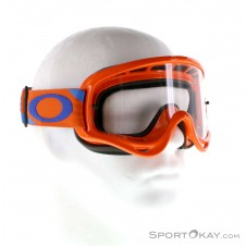Oakley O-Frame MX Heritage Racer Goggle Downhillbrille-Orange-One Size