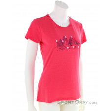 Salewa Graphic Dri Rel Damen T-Shirt-Pink-Rosa-36