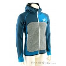 Ortovox Fleece Plus Hoody Herren Tourensweater-Blau-S