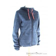 Salewa Fanes PL Zip Hoody Damen Outdoorsweater-Blau-S