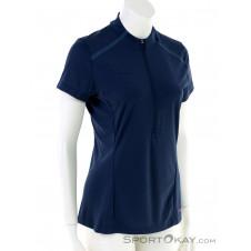 Mammut Atacazo Light Zip Damen T-Shirt-Blau-S