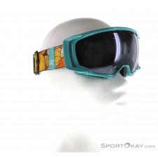 K2 Captura Damen Skibrille-Türkis-One Size