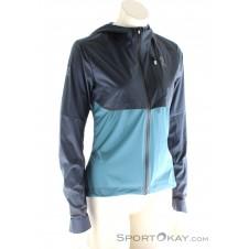 On Weather-Jacket Damen Laufjacke-Blau-S