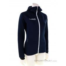 Rock Experience Re.Seeker Fleece Damen Sweater-Blau-S