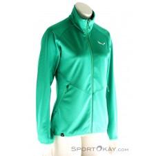 Salewa Puez Melange PL Damen Outdoorsweater-Grün-38