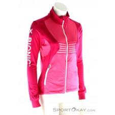 X-Bionic Ski Lady Raccoon Shirt Damen Skisweater-Pink-Rosa-M