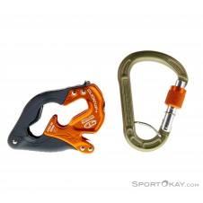 Climbing Technology Click Up + Sicherungsgerät-Orange-One Size