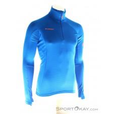 Mammut Mönch Advanced Half Zip Herren Tourensweater-Blau-S