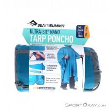 Sea to Summit Ultra-Sil Nano Tarp Poncho Regenjacke-Blau-One Size