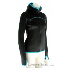 Ortovox MI Fleece Hoody Damen Outdoorsweater-Schwarz-XS
