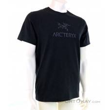 Arcteryx Arc Word SS Herren T-Shirt-Schwarz-M