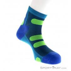 Lenz Compression Socks 4.0 Low Socken-Blau-39-41