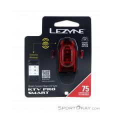 Lezyne KTV Pro Smart sw. Rücklicht Fahrradbeleuchtung-Schwarz-One Size