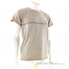 Chillaz Rigi Mountain Line Herren T-Shirt-Beige-S