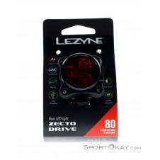 Lezyne Zecto Drive Rear Fahrradbeleuchtung-Schwarz-One Size